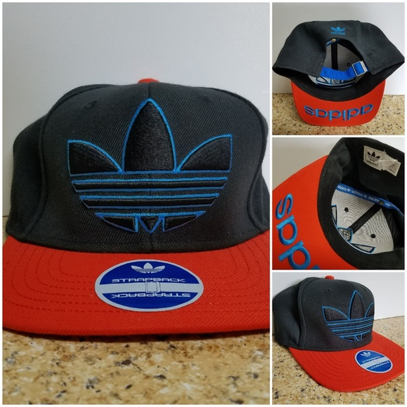 9b98960517b Adidas Originals Trefoil Strapback Hat RARE! NEW!